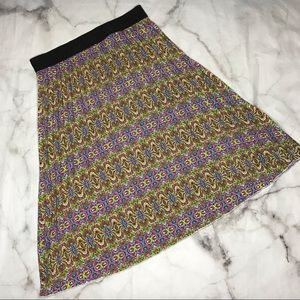 💥 Lularoe pleated Lucy skirt